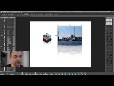 Bilder einfügen auf 2D und 3D Bausteinen - Coverflow