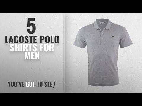 Top 10 Lacoste Polo Shirts For Men [2018]: Lacoste Men's Polo Shirt