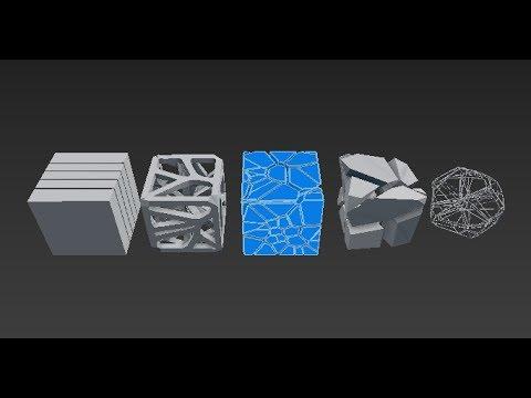 VORONOI 3D tutorial in meshlab and blender - смотреть онлайн