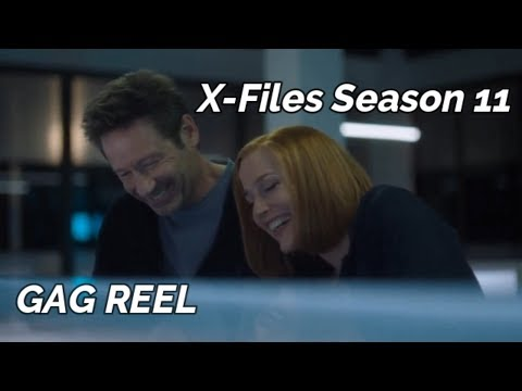 X-Files Season 11 GAG REEL/BLOOPERS