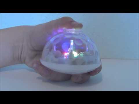 Underwater Light Show - Discokugel für Badewanne und Pool (Gadget Test)
