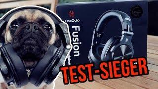 "✅OVER EAR MIT BASS "" BLUETOOTH "" ONE ODIO Fusion A70 Testsieger Deutsch"
