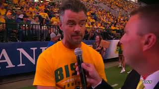 Sports Josh Duhamel on Bison Football Atmosphere