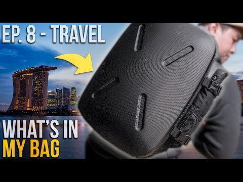 What's In My Travel Bag Ep. 8 – Jerrybag SHIELD Backpack Review