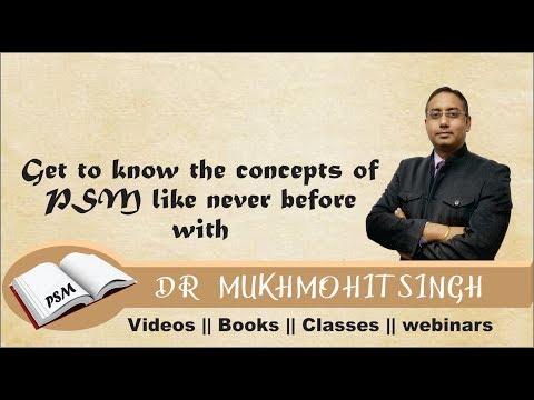 AIIMS Discussion Nov 2018 (PSM) by Dr. Mukhmohit Singh