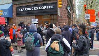 Starbucks responds after outrage over black men