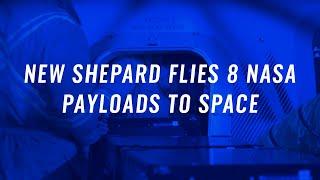 Décimo voo da New Shepard com experimentos da NASA