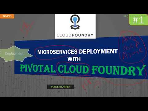 Pivotal Cloud Foundry #1    Intro & Course Plan    PCF + ... - YouTube