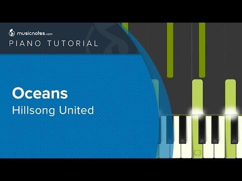 Oceans Where Feet May Fail Piano Cover Tutorial