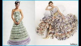 Лютые приколы.  Самые жуткие свадебные платья.