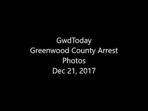 Greenwood County Arrest Photos for Dec 21, 2017