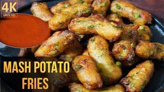 Mashed Potato Recipe | How to Make Crispy Mashed Potato Fries