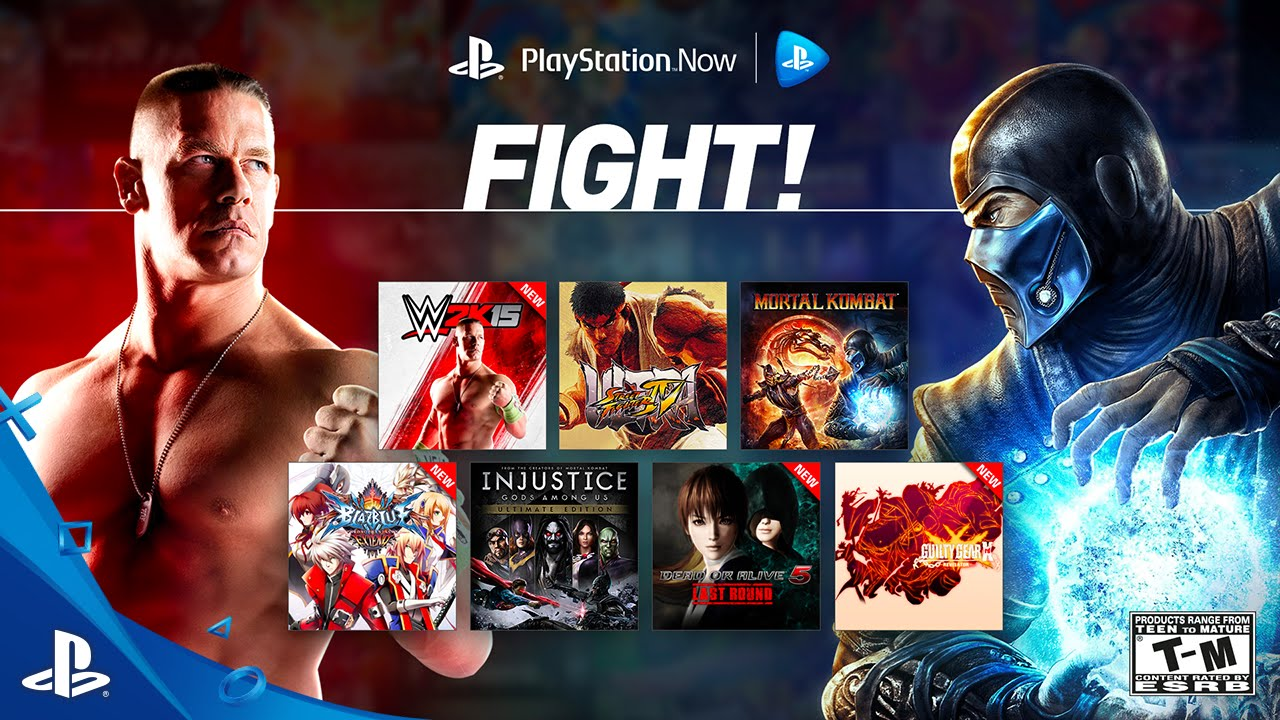 Eight Fighting Games Join the PS Now Lineup Today