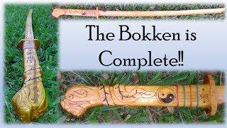 Ramirez Bokken (Wooden Katana from the Highlander Series) Part 2 – Finished!
