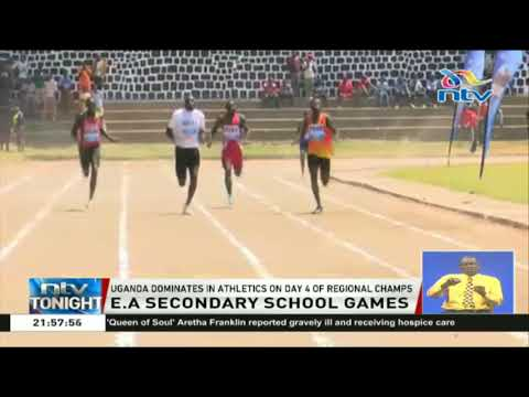 Uganda dominates in athletics on a day 4 of East Africa Secondary School Games