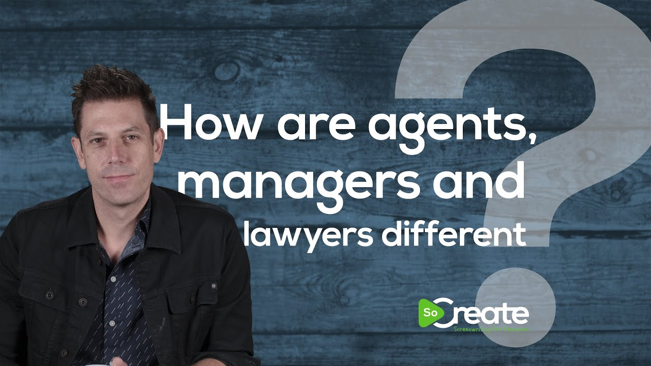 Disney Writer Ricky Roxburgh Explains the Difference Between Agents, Managers, and Lawyers