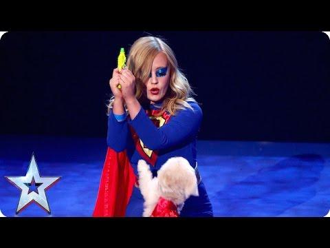 """לוסי וטריפ הזארד - צמד """"גיבורי על"""" במופע מקסים ומשעשע"""