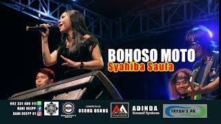 SYAHIBA SAUFA   BOHOSO MOTO(Live) AA JAYA MUSIC