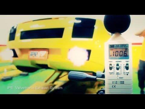 The iPE Exhaust for Lamborghini Gallardo 04-07
