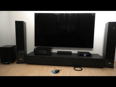 Vogels Wall 3305 Flache TV-Wandhalterung | Samsung Q7F | Oli