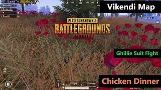 [Hindi] PUBG Mobile | New Vikendi Map Amazing Ghillie Suit Fight