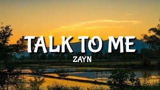 Zayn - Talk To Me [Lyrics/Lyric]
