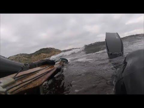 La pesca in dicembre della Norvegia