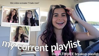 DRIVE WITH ME + MY CURRENT *breakup* PLAYLIST
