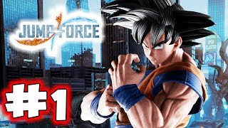 JUMP FORCE Gameplay Walkthrough Part 1 - Prologue (Let's Play)