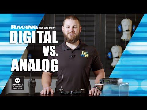 Analog Vs. Digital Two-Way Radios