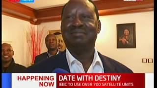 NASA presidential candidate Raila Odinga says he is confident of victory after elections.
