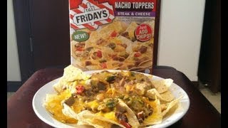 TGI Friday's NEW Nacho Toppers (Steak & Cheese) Review