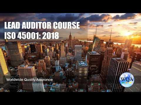 Training Lead auditor course ISO 45001 - WQA ... - YouTube