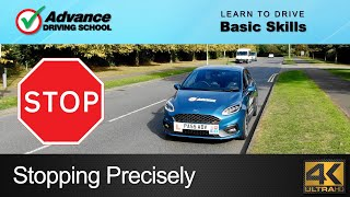 Stopping At The Side Of The Road Precisely |  Learn to drive: Basic skills