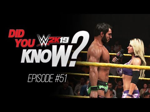 WWE 2K19 Did You Know? Intergender Promos, Unlimited Finishers & More! (Episode 51)