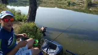 Рыбалка за новым мостом кировоград