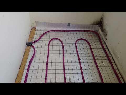 Балкон особенности водяного теплого пола от центрального отопления