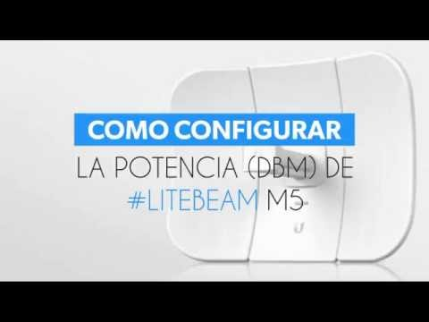 How to Set up and configure Ubiquiti LITEBEAM M5  How to change ip
