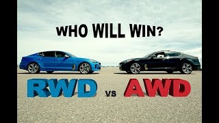 AWD versus RWD - Kia Stinger GT at the Race Track
