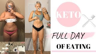 KETO full day of eating to LOSE WEIGHT!