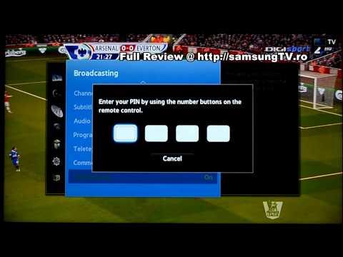 Samsung F6400 - Menu (32F6400 / 40F6400 / 46F6400 / 50F6400 / 55F6400)