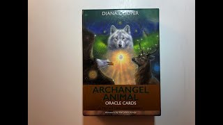 Spiritual Messages from the Archangel Animal Oracle cards