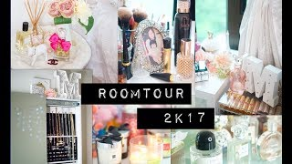 ROOM TOUR 2017 + Mini Makeup Collection | Just Minnie