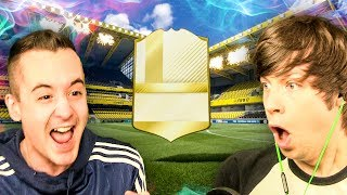 CRACKING PACK LEGEND LUCK!!! - FIFA 17 PACK OPENING TOTS