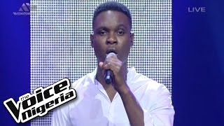 """Nonso Sings """"I'm Going Down""""  Live Show  The Voice Nigeria 2016"""