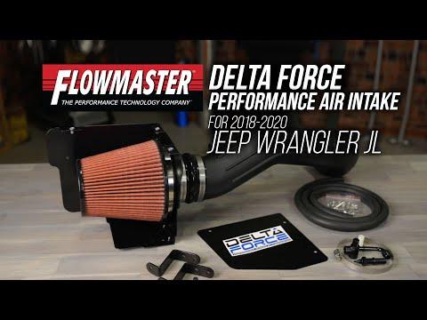 Sportovní sání Flowmaster Jeep Wrangler 3,6L 2018-2021