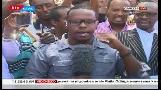 Wakaazi wa Garissa washangilia kuona gavana wa awali Nathif Juma