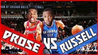 WHO'S BETTER? WESTBROOK OR ROSE?! - NBA 2K16 Head to Head Blacktop Gameplay
