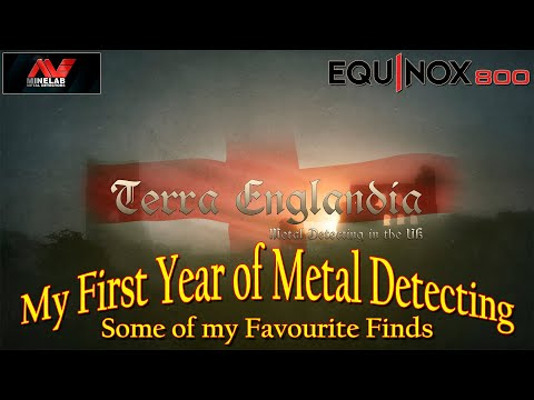 Metal Detecting UK - 2019 My First year of Metal Detecting - Some of my Favourite Finds