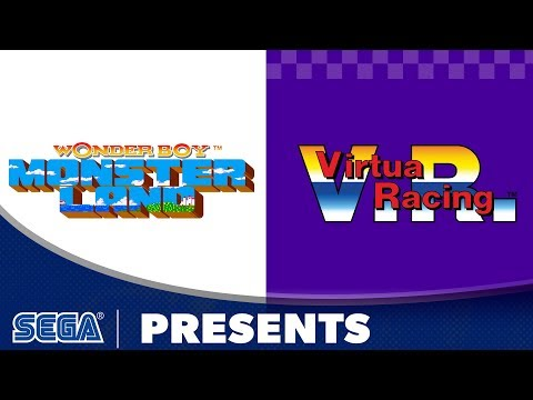 SEGA AGES Virtua Racing & Wonder Boy: Monster Land | Launch Trailer thumbnail